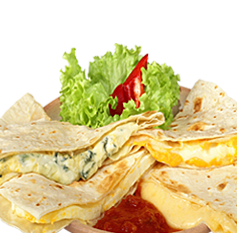 Quesadillas sýrová